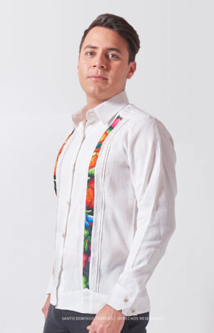 Mexican guayabera embroidered